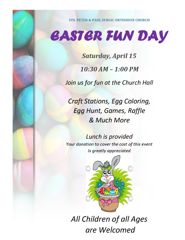 SS-Easter Fun Day Flyer