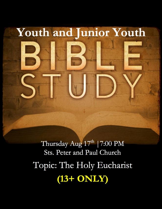Bible Study Flyer PDF